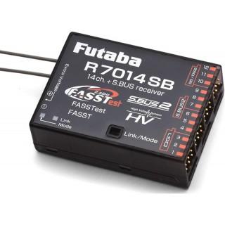Futaba vevő 14/18k R7014SB 2.4GHz FASSTest/FASST