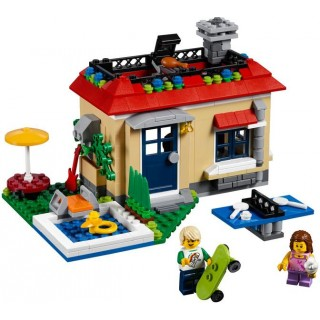 LEGO Creator - Modulární prázdniny u bazénu