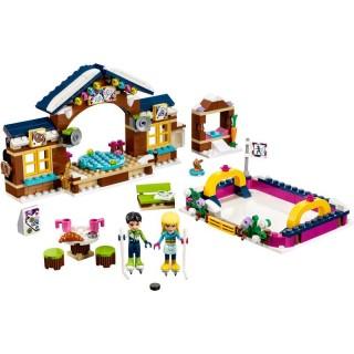 LEGO Friends - Kluziště v zimním středisku