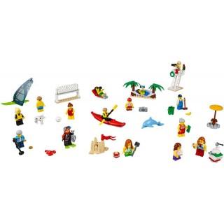 LEGO City - Sada postav - Zábava na pláži
