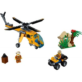 LEGO City - Nákladní helikoptéra do džungle