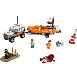 LEGO City - 4 x 4 Sürgősségi egység LEGO® 60165