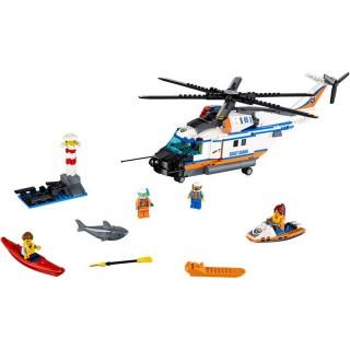 LEGO City - Nagy teherbírású mentőhelikopter LEGO® 60166