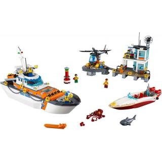 LEGO City - A parti őrség főhadiszállása LEGO® 60167