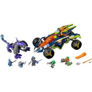 LEGO Nexo Knights - Aaron sziklamászója LEGO® 70355