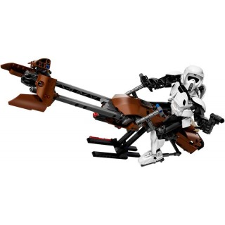 LEGO Star Wars - Felderítő rohamosztagos™ és járműve LEGO® 75532