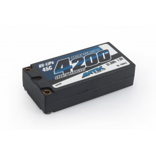 ANTIX by LRP 4200 Shorty - 7.6V LiHV - 45C LiPo Car Hardcase
