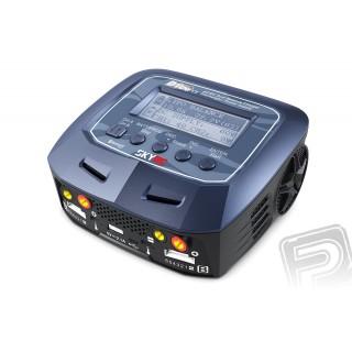 SKY RC D100 V2 töltő 2x 100W