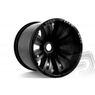 8-paprskové Oversize disky černé (2 ks.)
