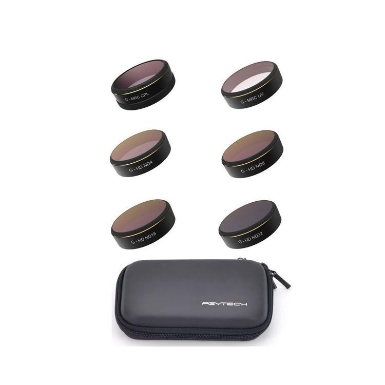 Phantom 4 PRO - sada filtrů (UV, ND4, ND8, ND16, ND32, Pol)