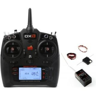 Spektrum DX8 G2 DSMX Mód 1-4, AR8010T