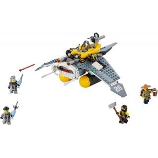 LEGO Ninjago - Manta Ray bombázó LEGO® 70609