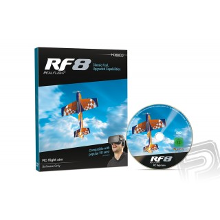Realflight RF-8 software