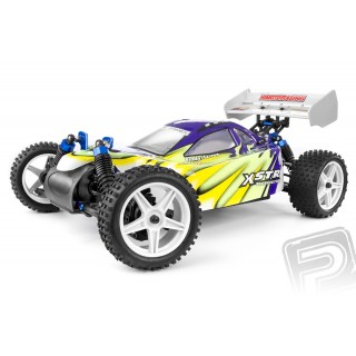HiMOTO buggy 1:10 elektro RTR szett 2,4GHz zöld