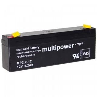 Pb akkumulátor MULTIPOWER 12V/2,2Ah