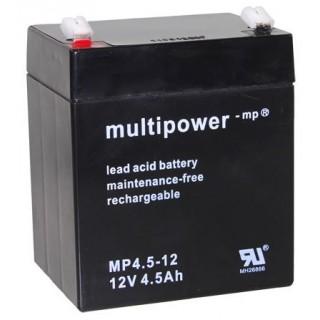 Pb akumulátor MULTIPOWER 12V/4,5Ah