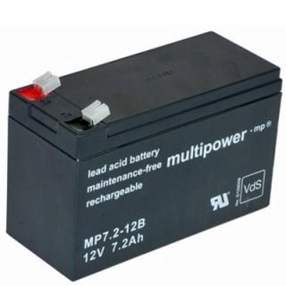 Pb akkumulátor MULTIPOWER 12V/7,2Ah