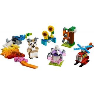 LEGO Classic - Kostky a ozubená kolečka