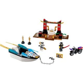 LEGO Juniors - Pronásledování v Zaneově nindža člunu