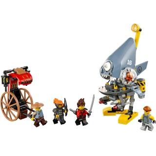 LEGO Ninjago - Útok piraně