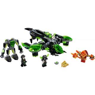 LEGO Nexo Knights - Vad harcos bombázó LEGO® 72003
