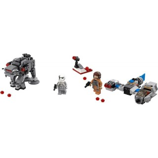 LEGO® Ski Speeder™ vs. Első Rendi Lépegető™ Microfighters LEGO® 75195