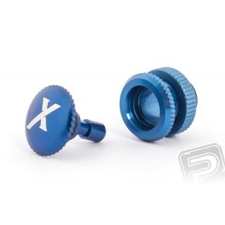 Üzemanyag szelep (X logo), kék