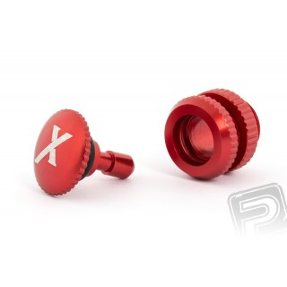 Üzemanyag szelep (X logo), piros