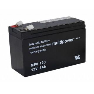 Pb akumulátor MULTIPOWER 12V/8,0Ah