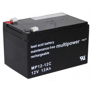 Pb akumulátor MULTIPOWER 12V/12,0Ah