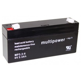 Pb akkumulátor MULTIPOWER 6V/3,2Ah