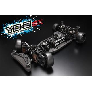 Yokomo YD-2SX RWD 1:10 drift alváz Kit (grafit alváz)