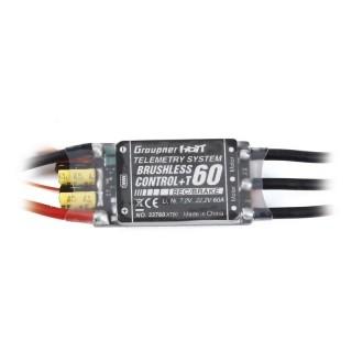 Brushless control + Telemetrie 60 G3,5 s XT60 konektorem