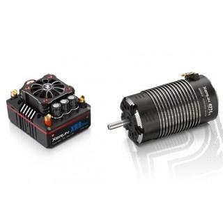 COMBO XR8 PLUS s XERUN 4268SD 2200Kv - G2 - černý