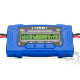 Multifunkční wattmetr 100A