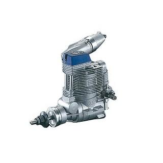 OS MAX FS α-72 motor hangtompítóval