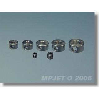 2805 Stavěcí kroužek mosaz 5 mm 4 ks