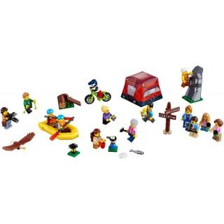 LEGO City - Figuracsomag - Szabadtéri kalandok LEGO® 60202