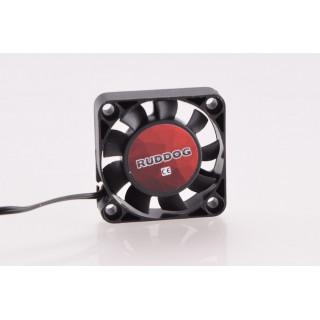 RUDDOG ventilátor 40x40mm, 240mm-es fekete kábel + JR csatlakozó