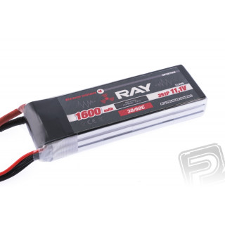 G4 RAY Li-Po 1600mAh/11,1 30/60C Air pack