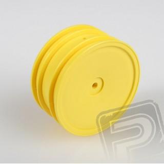 Disky přední, pár (žluté)