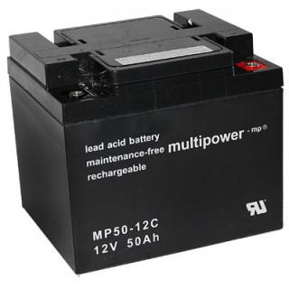 Pb akumulátor MULTIPOWER 12V/50,0Ah