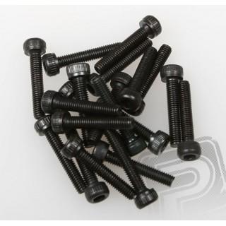 Imbuszfejű csavarok 3x16mm, ST-1, ER-1