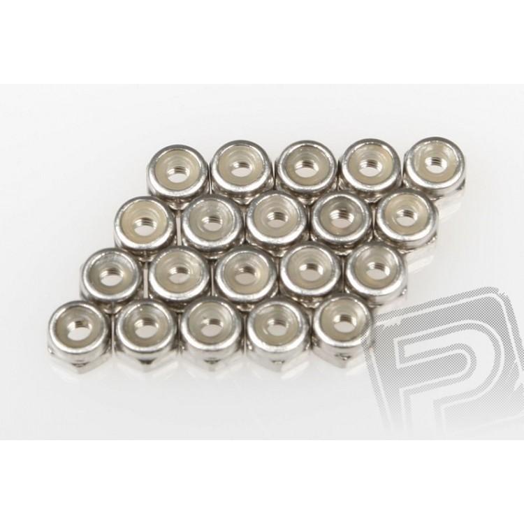 Samojistící matice 2.6mm, 20ks., ST-1, ER-1, ZK-2, ZT-2