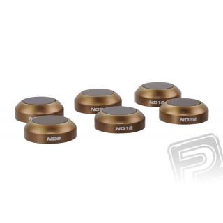 MAVIC - sada filtrů ND4/PL, ND8/PL, ND16/PL, ND16 and ND32