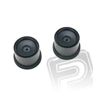 Zadní disky, černé, 6570
