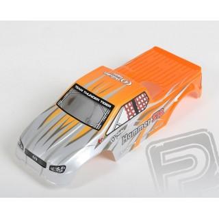 Lakovaná karoserie, stříbrno oranžová, MT-12, HAM S18