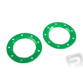Biztosító gyűrű, zöld, 2db. PD8321, ,6225 felnikhez