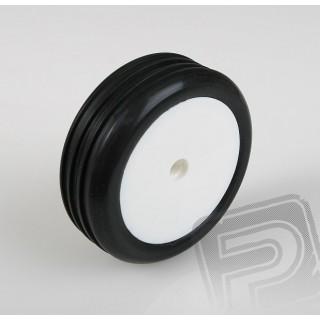 Přední gumy nalepené 2wd, bílé disky, AT-10