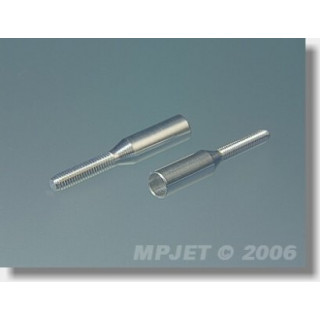 2039 Tolórúdvég széncsőre 4mm/M2 2db